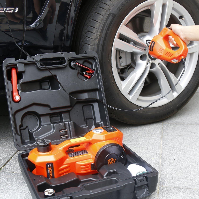 Gato hidráulico eléctrico Dinsen para coche 12 V CC: Amazon.es: Coche y moto