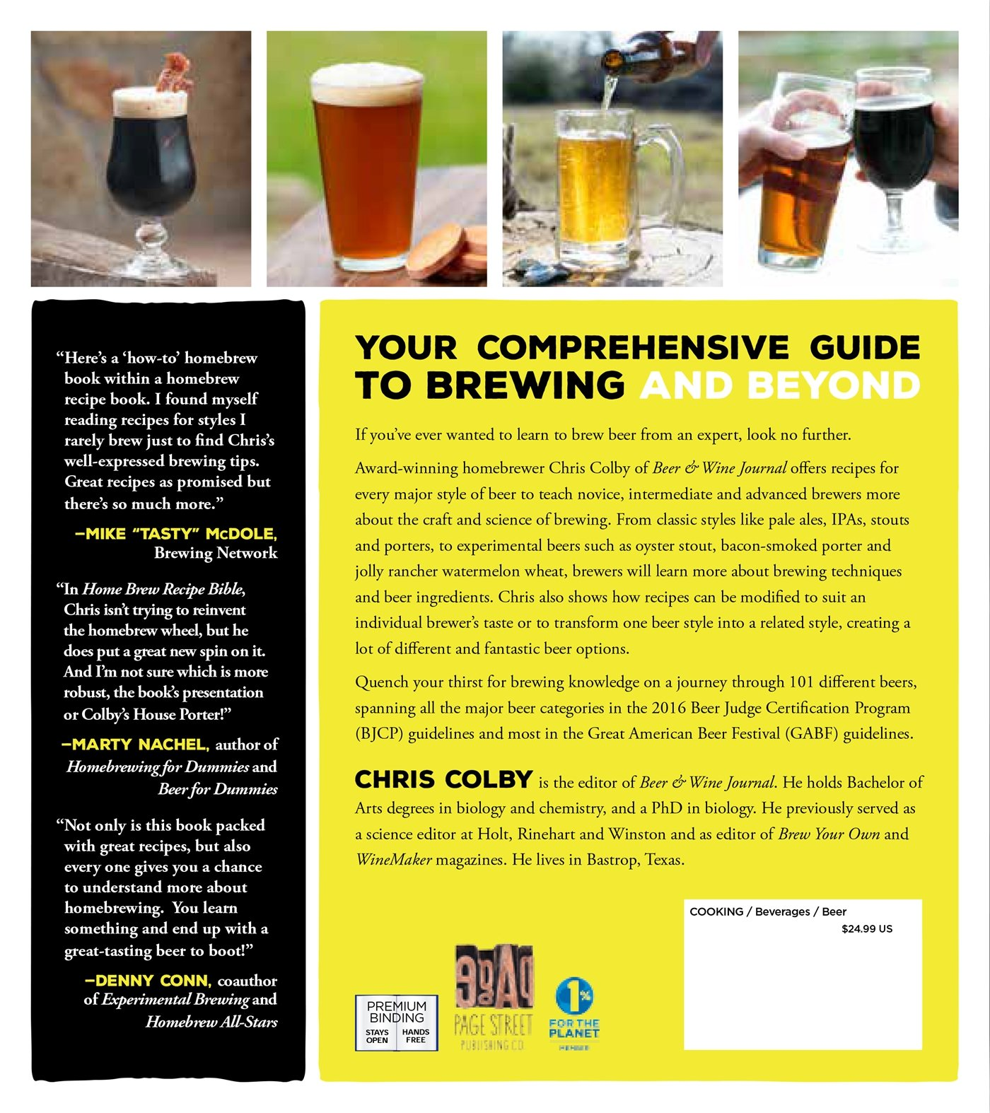 Home Brew Recipe Bible: An Incredible Array of 101 Craft Beer ...