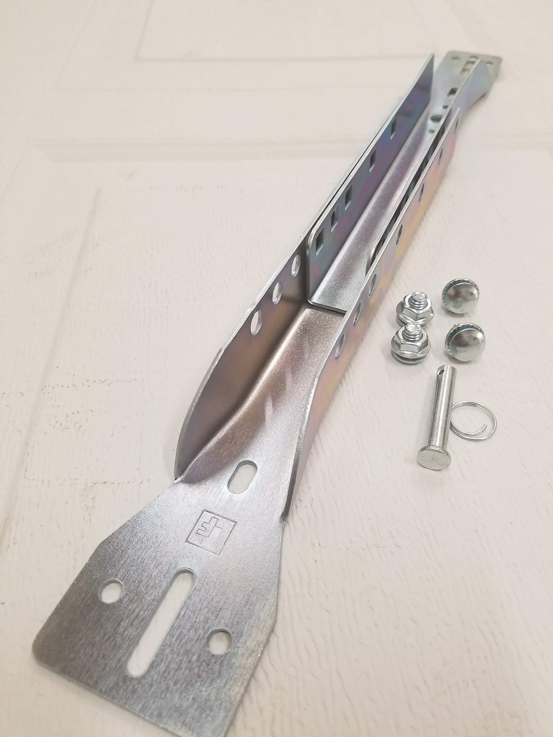 Garage Door Opener Adjustable Reinforcement Bracket - Fits 18''- 21''-24'' Sections