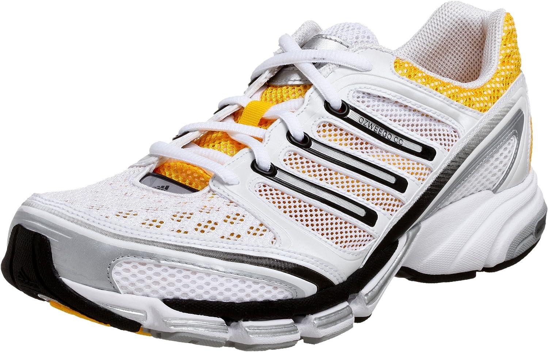 Mirar furtivamente Inactividad terrorismo  Amazon.com | adidas Men's Ozweego CC Running Shoe, Yellow/White/Silver, 8 M  | Running