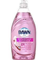 Dawn Ultra Botanicals Dishwashing Liquid Dish Soap, Cherry Blossom, 523 mL, Packaging may vary