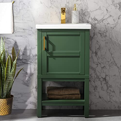 UrbanFurnishing.net Bailey 20″ Single Bathroom Vanity