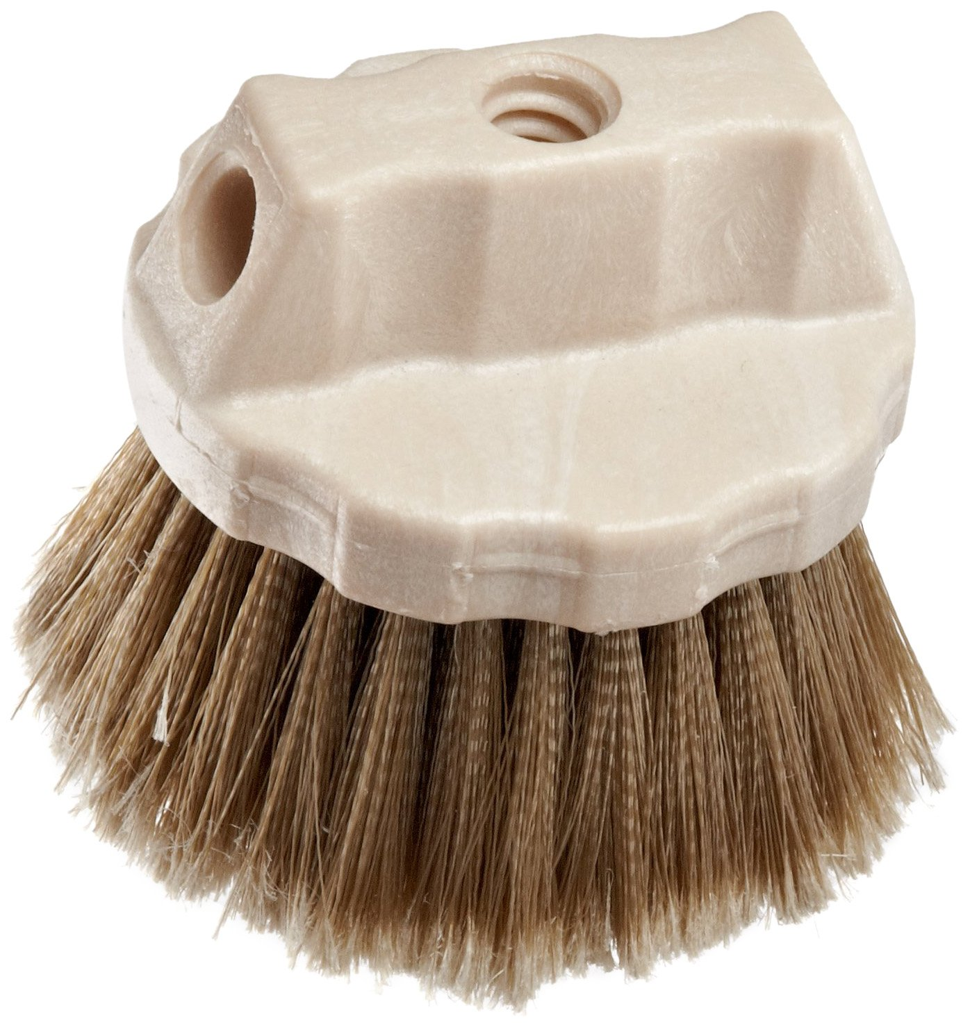 Weiler 25271 Polystyrene Round Window Brush, 4-1/2'' Overall Length, Natural by Weiler