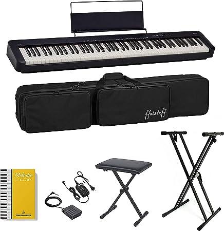CASIO CDP-S100 Piano digital 88 teclas pesadas, bolsa ...