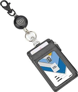 Ausweishülle ID Kartenhalter Kartenetui Ausweishalter aus PU Leder mit 5