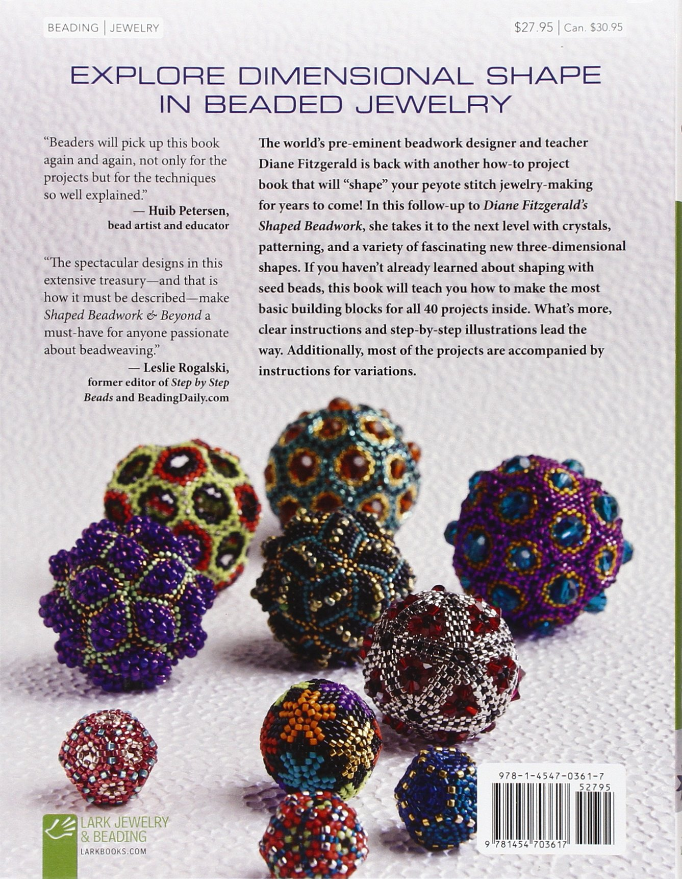 Shaped Beadwork & Beyond: Dimensional Jewelry in Peyote Stitch ...