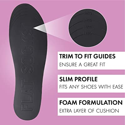 Terry Material Small No Show Cushioned Trim to Fit Non Slip Sock FLAT SOCKS for Women and Men