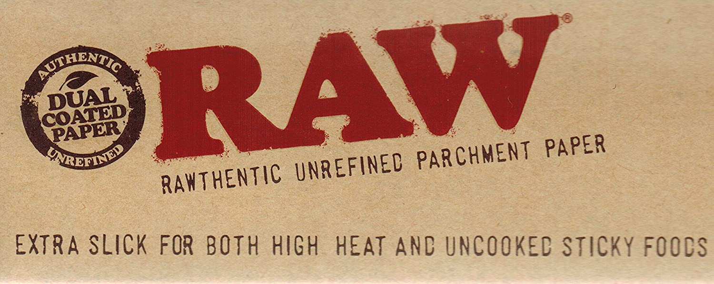 RAW Unrefined Parchment Paper Squares 5