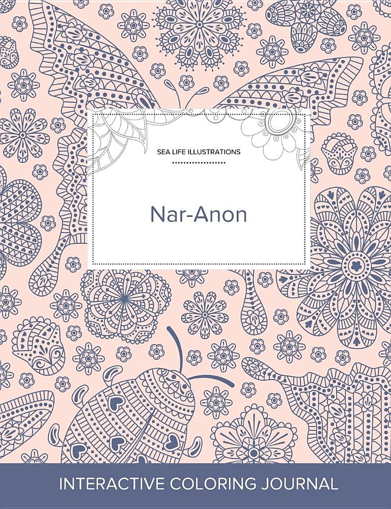 Adult Coloring Journal: Nar-Anon (Sea Life Illustrations, Ladybug) ebook