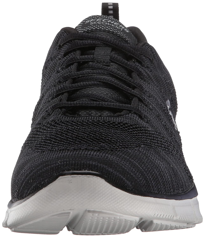 SKECHERS - Equalizer Mental Clarity 51387 - black gray, (grau/schwarz), 42.5