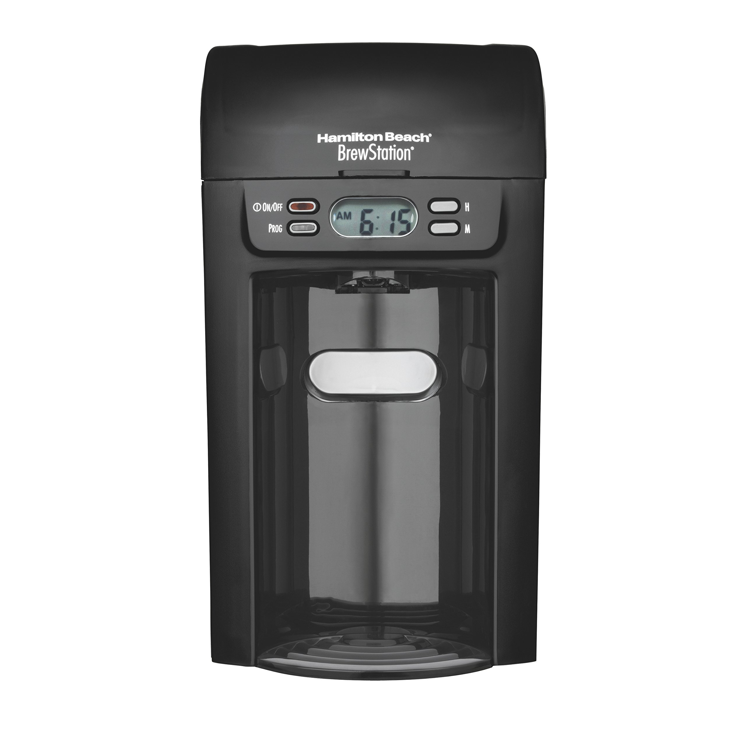 Hamilton Beach 6-Cup Coffee Maker, Programmable Brewstation Dispensing Coffee Machine (48274)