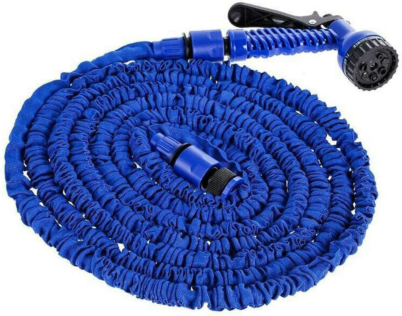 150FT Expandable Garden Hose Pipe, Magic Garden Hose with 7 Function Spray Gun, Lightweight Flexible Water Hose 1/2