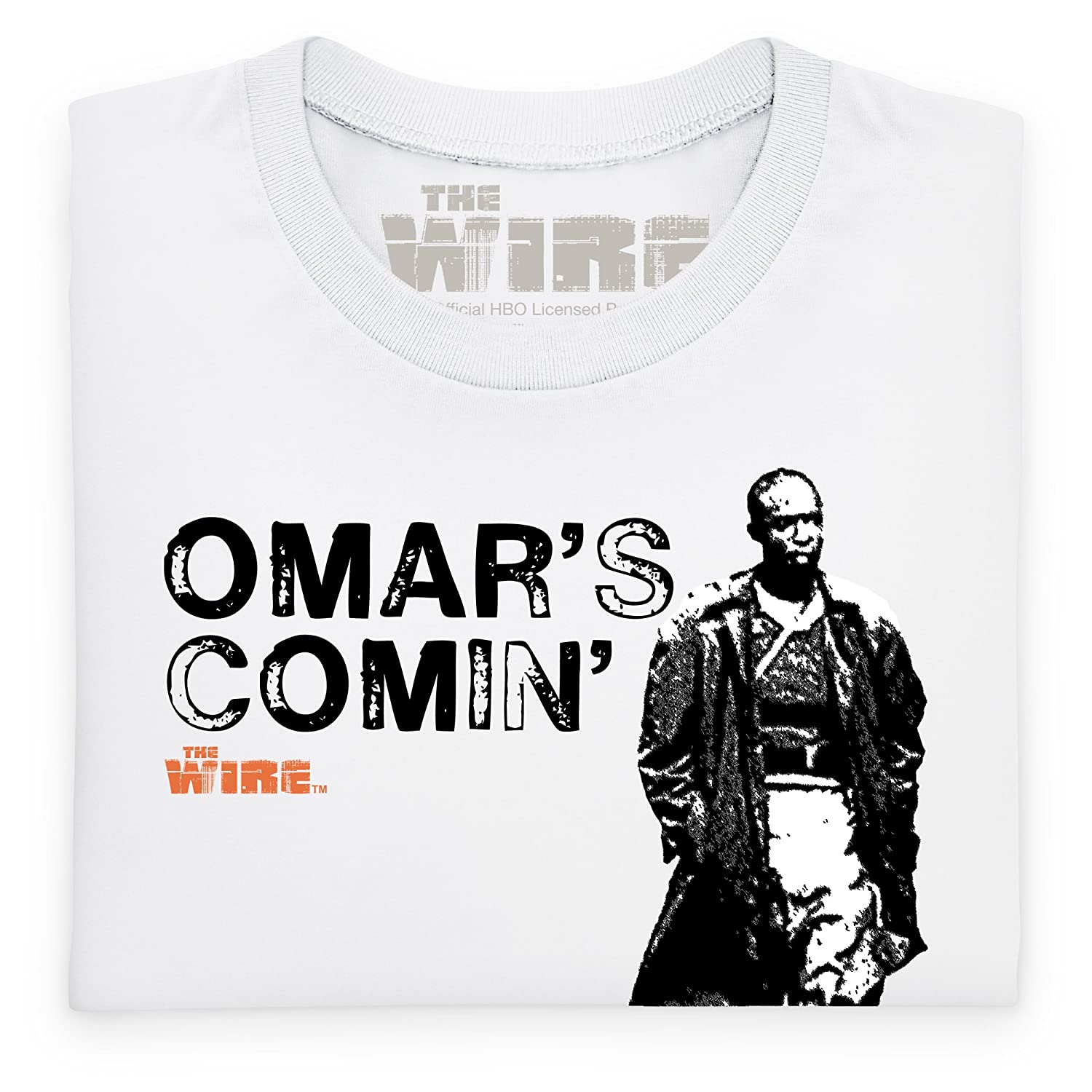 Shotdeadinthehead Official The Wire - Omar\'s Comin\' T Shirt, Female ...