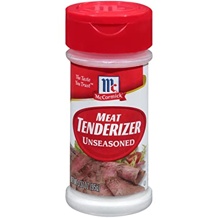 Mccormick Non Seasoned Meat Tenderizer 3 37 Oz