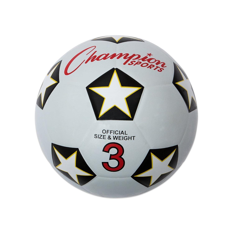 Champion Sports Taille 3Housse en Caoutchouc Ballon de Foot SRB3