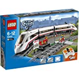 LEGO - 60051 - City - Jeu de construction - Le train de passagers à grande vitesse