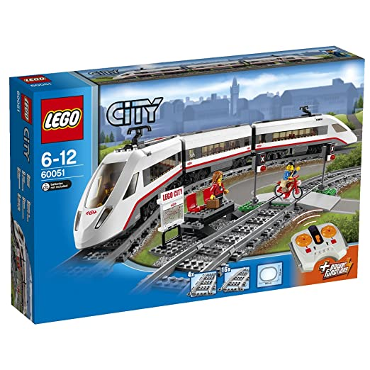 LEGO - 60051 - City - Jeu de construction - Le tra...
