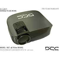 DCC 4K LED Projector UHD (Projection Size Upto 200 INCHES)