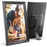 NIX 15 Inch Digital Picture Frame - Portrait or Landscape Stand, Full HD Resolution, Auto-Rotate, Remote Control - Mix…