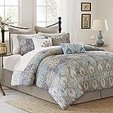 Harbor House Sanya Comforter Set, California King, Blue