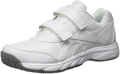 Reebok Men's Work N Cushion KC 2.0 Fitness Shoes, Weiß (White/Flat Grey