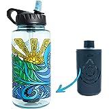 Epic Nalgene OG   Water Bottle with Filter   USA Made Bottle and Filter   Dishwasher Safe   Filtered Water Bottle…