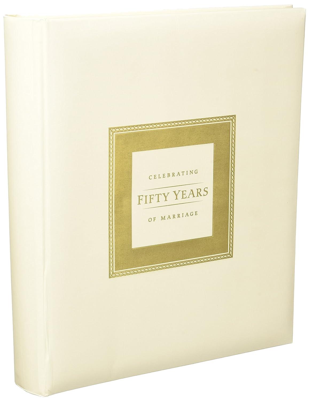 Amazon.com: 50th Anniversary Memory Book for 50th Wedding ...