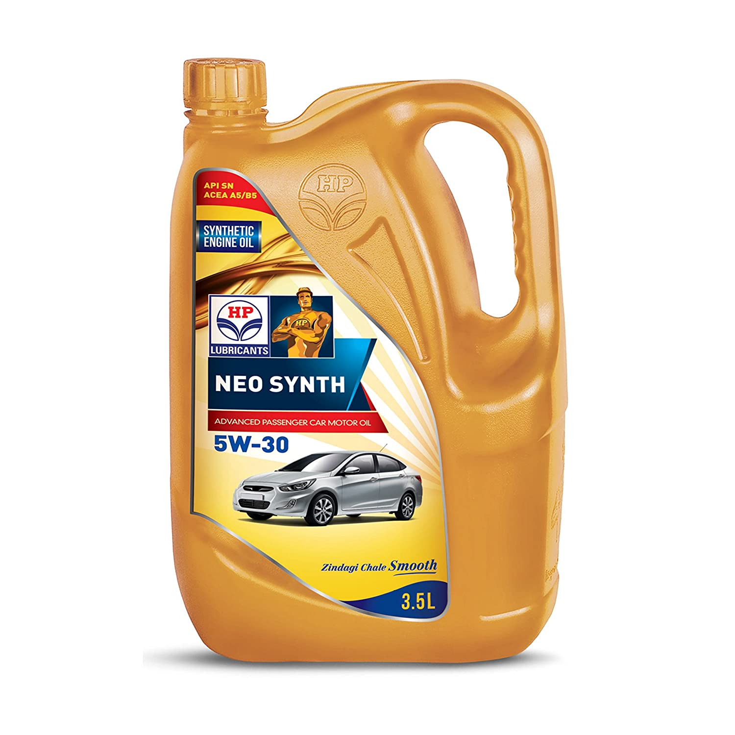 Hp Lubricants Neo Synth 5w 30 Api Sn Semi Synthetic Engine Oil For