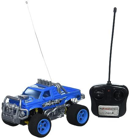 Amazon Com Lutema Blaze Truck 4ch Remote Control Truck Blue Toys