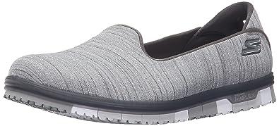 Damen Slipper Go Mini Flex Schwarz/Grau, Schuhgröße:EUR 40 Skechers