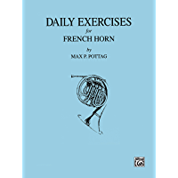 Daily Exercises for French Horn book cover