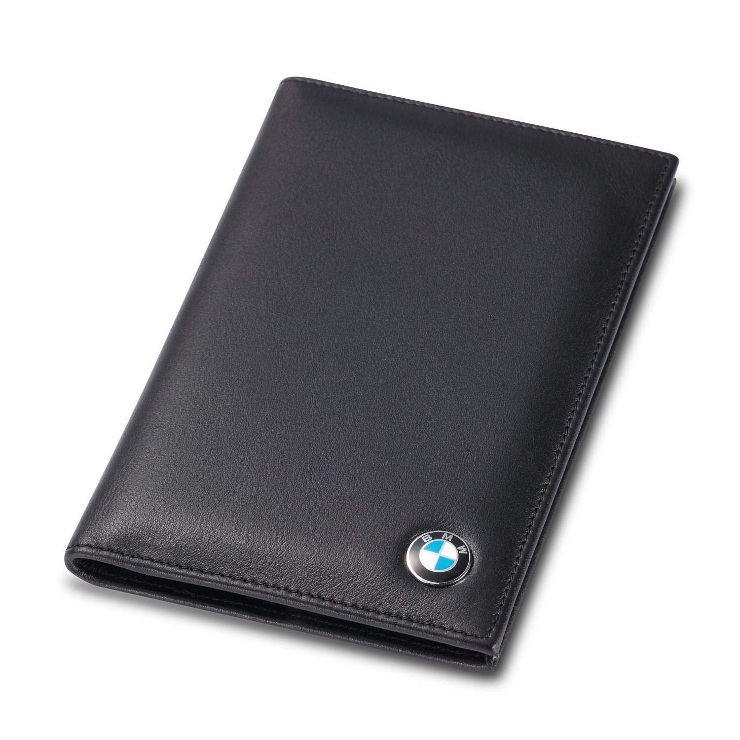 BMW Bifold Standard Passport Cover - Genuine Leather by Leather Wallets