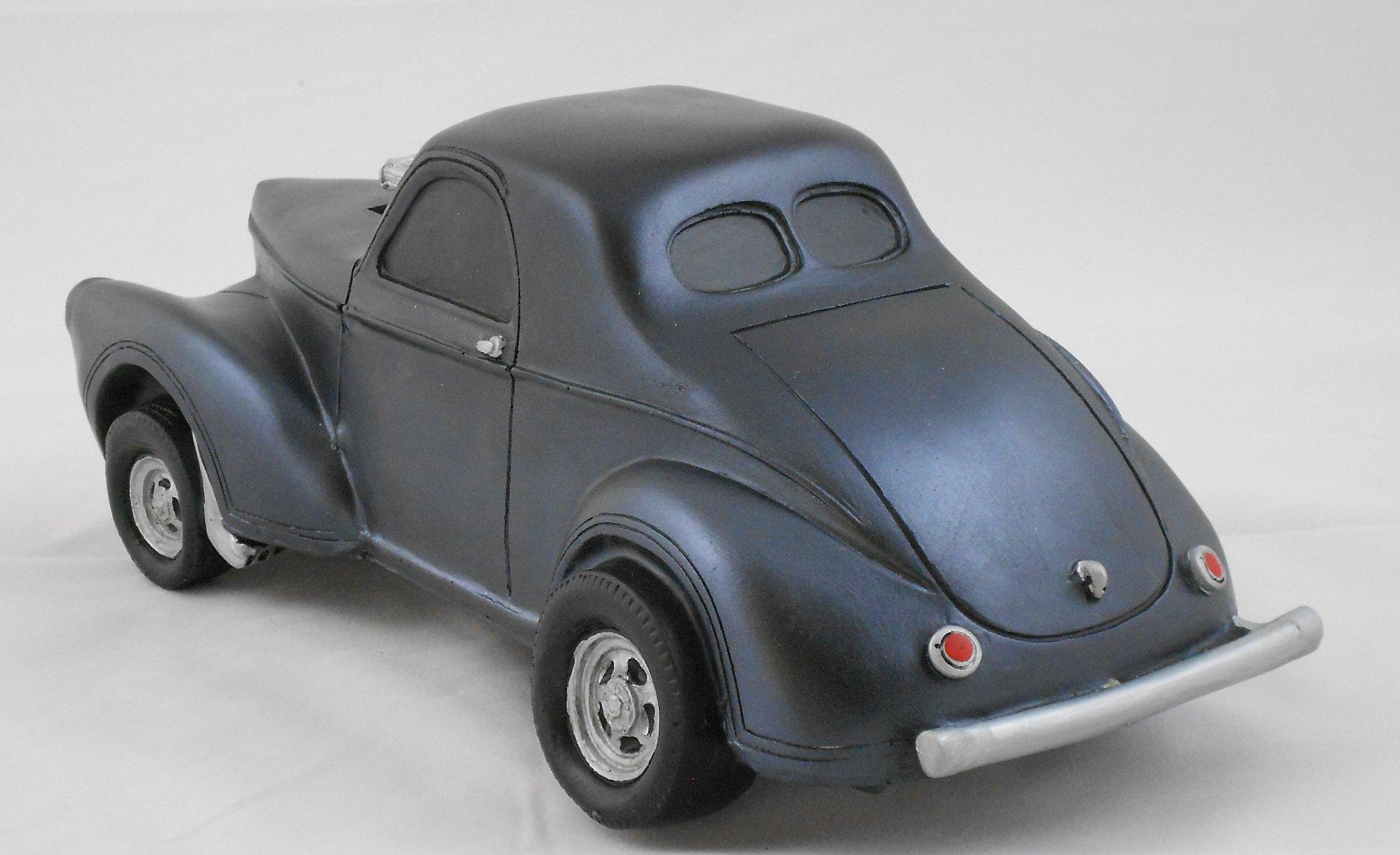 Gasser Model 1941 Willys 1:18 Scale Black by Gasser Models (Image #2)