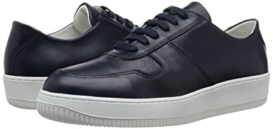 Mata Leather Sneaker 1431-343-5748: Navy