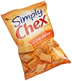 Chex Mix Simply Chex, Cheddar, 8-Ounce Packages