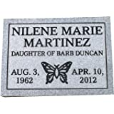 Cemetery marker headstone monument- engraving included multiple designs to select from customize here in this listing. 100% U