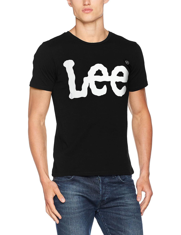 TALLA XXL. Lee Logo tee Camiseta para Hombre