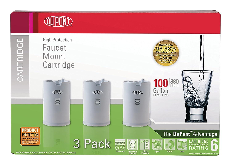 Amazon.com: DuPont WFFMC103X High Protection 100-Gallon Faucet Mount ...