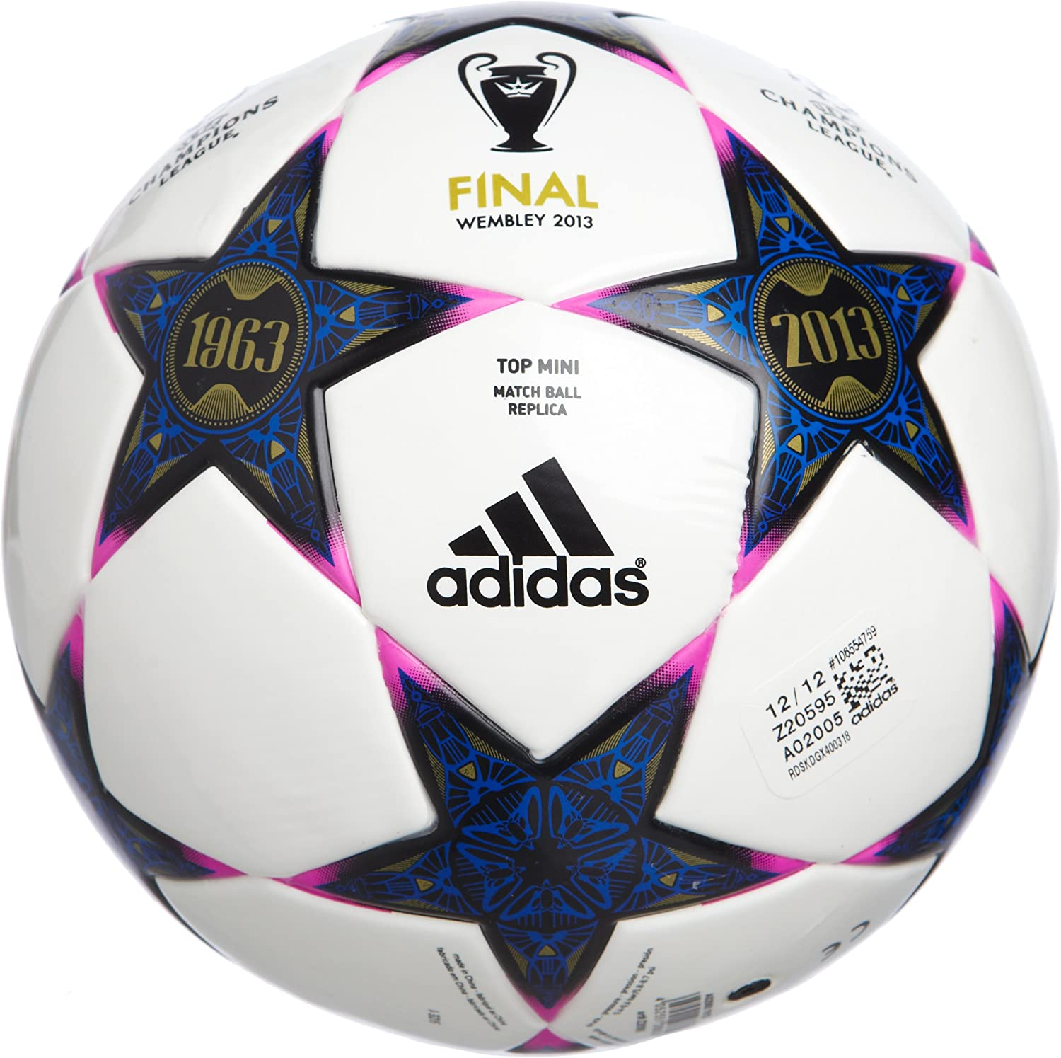 adidas Mini balón de fútbol Finale Wembley Champions League 2013 ...
