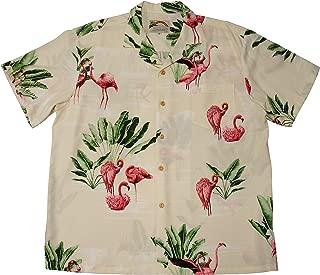 product image for Paradise Found Men's Flamingo 19 Hawaiian Shirt