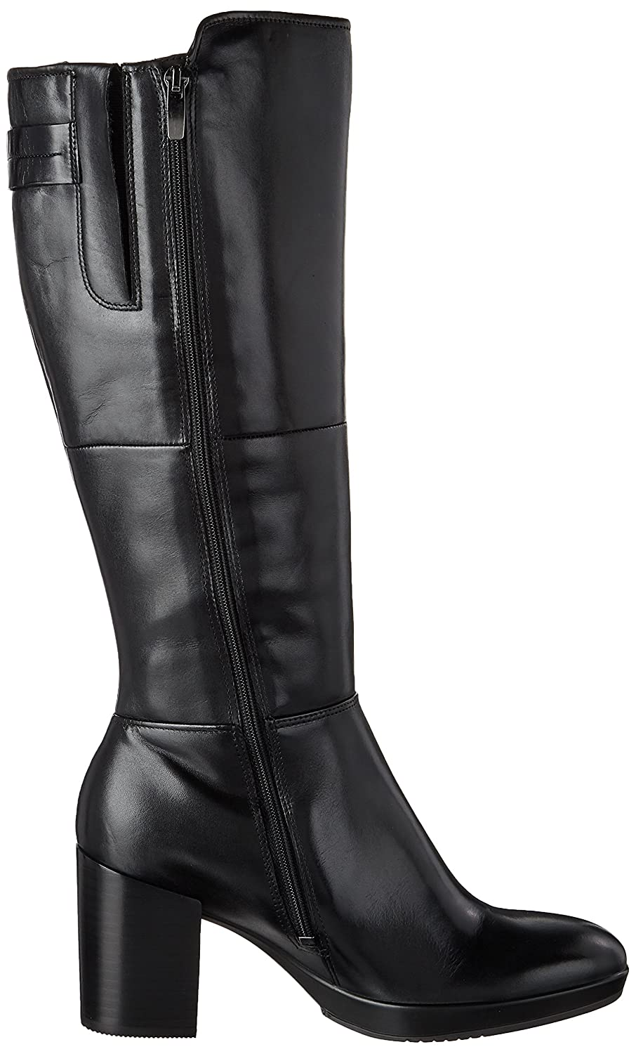 ECCO Women's Riding Shape 55 Chalet Tall Riding Women's Boot B01NH9NKNW 41 EU / 10-10.5 US|Black d89612