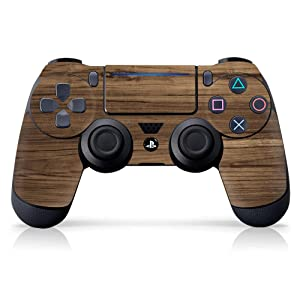 Controller Gear Officially Licensed Controller Skin - Wood Grain - PlayStation 4