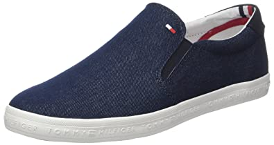 Tommy Hilfiger Essential Slip On Sneaker, Zapatillas para Hombre: Amazon.es: Zapatos y complementos