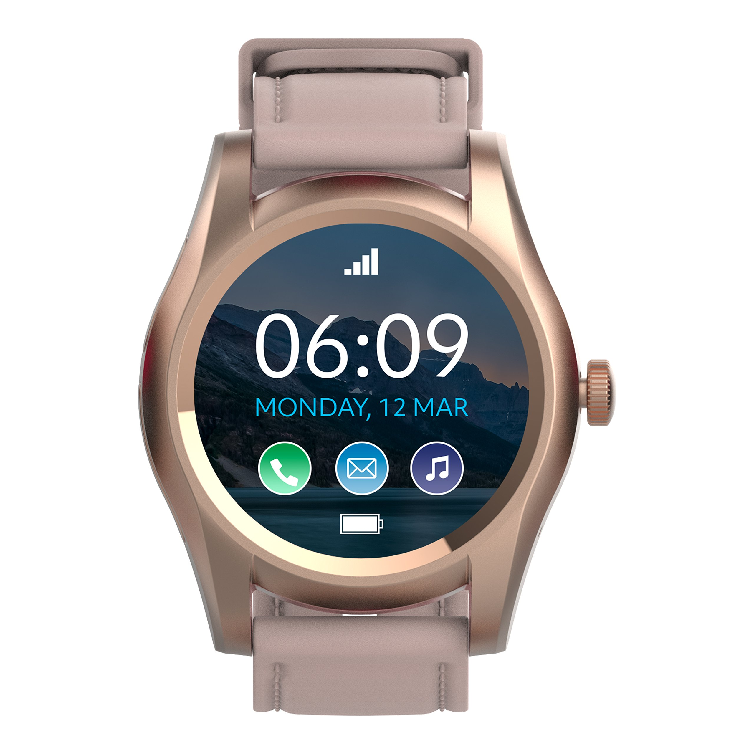 BLU X Link - Smartwatch Compatible with Android and iOS -Rose Gold