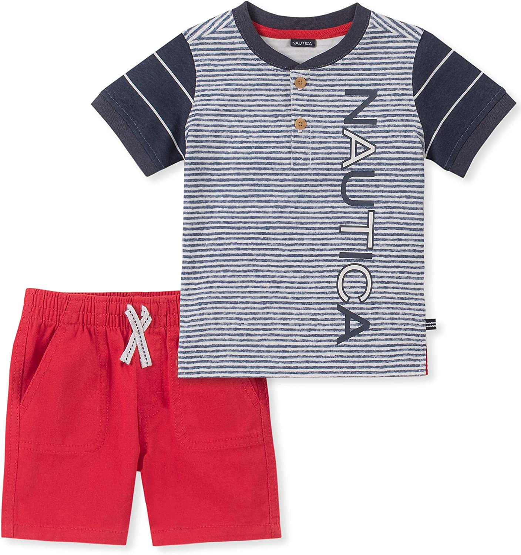 Nautica Baby Boys 2 Pieces Shorts Set