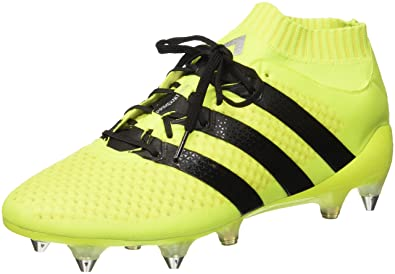 6b095402c28 Image Unavailable. Image not available for. Color  adidas Ace 16.1 Primeknit  Soft Ground Mens Football Boots ...
