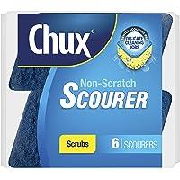 Chux Non Scratch Scourer Scrub, 6 count