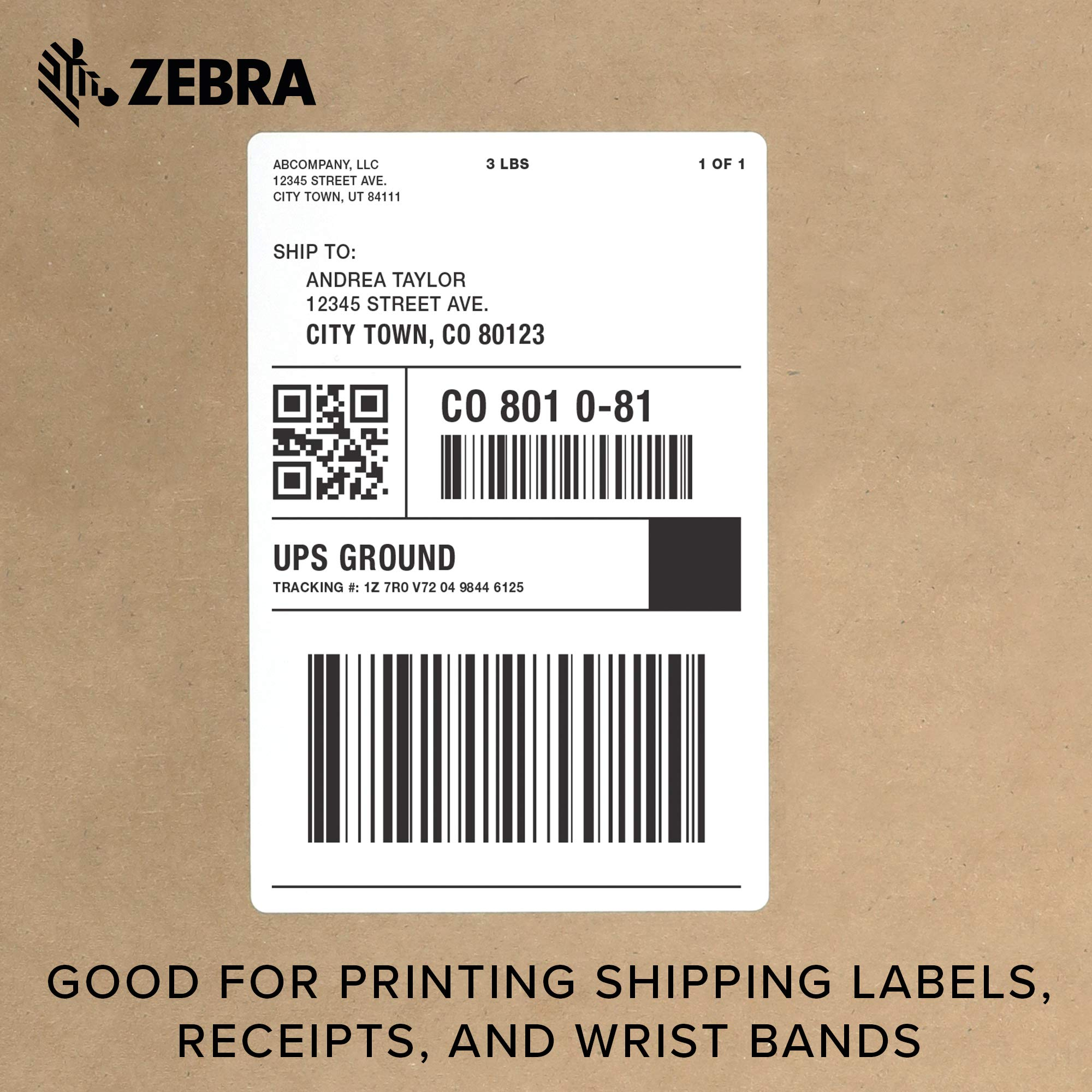 Zebra - ZD420d Direct Thermal Desktop Printer for Labels and Barcodes - Print Width 4 in - 300 dpi - Interface: USB - ZD42043-D01000EZ by Zebra Technologies (Image #7)