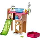 Barbie Pet Station and Puppy Playset