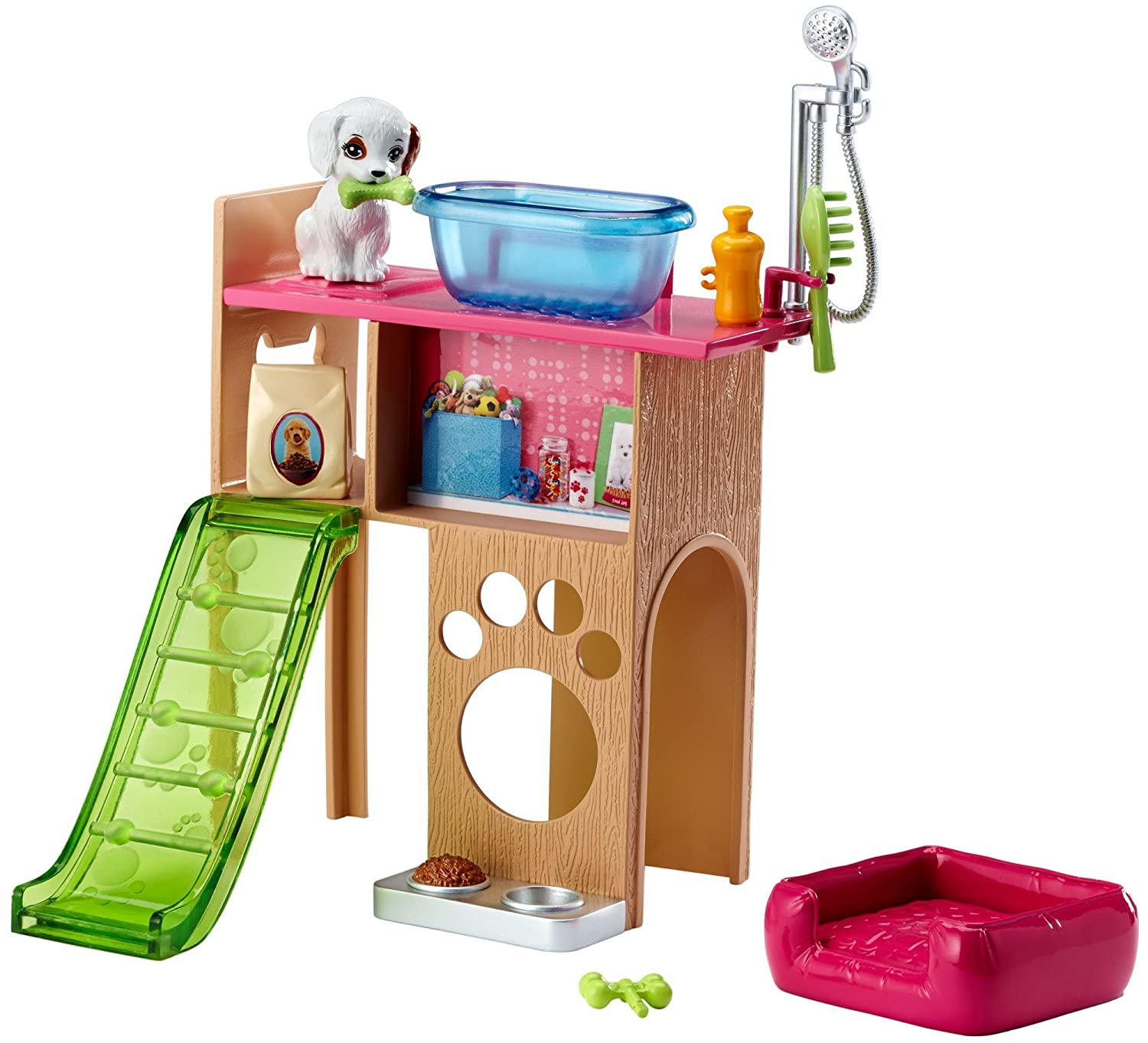 Mattel Barbie Pet Station & Welpen Spielset